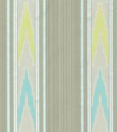 Upholstery Fabric-Williamsburg Manipur Ikat Shade