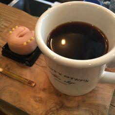 MightyStepsYokyo@Tokyo Nihonbashi  AEROPRESS COFFEE & Japanese Sweets. WAGASHI