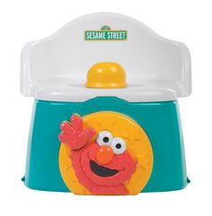 c9fa0ccbcc6 Sesame Street 1-2-3 Learn With Me Potty Chair -Elmo All Star