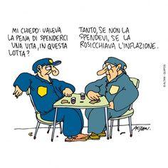 Altan, in mostra le vignette sulla crisi Vignettes, Peanuts Comics, Humor, Learning, Memes, Funny, Smile, Twitter, Art