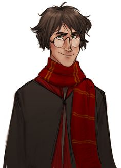 harry potter redesign by Makini