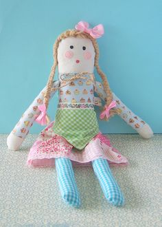 Sweet Tidings: Rosie Cheeks and Bottled Buttons