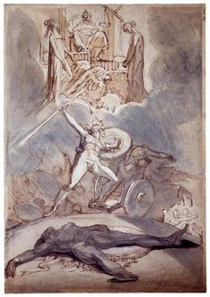 Psychostasy (The Weighing of Souls), 1800 | Henry Fuseli | The Morgan Library & Museum