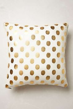 Anthropologie - Luminous Dots Pillow
