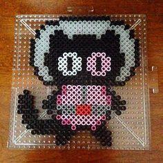 Cookie Cat - Steven Universe perler beads by honey.beads