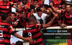 Torcida do Flamengo: a que mais consome refrigerante