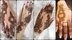 #hennahanddesigns #henna Top 100 Mehndi Design collections For Backhand 2020 Mehandi Designs Easy, Simple Arabic Mehndi Designs, Mehndi Simple, Mehndi Designs For Fingers, Henna Designs, Mehndi Tattoo, Mehndi Art, Mehendi, Mehndi Patterns