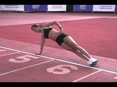 super tough core work for runners--building a better runner core H