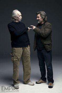 Kurt Russell with John Carpenter