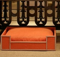 an adorable dog bed...