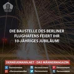 10. Jubiläum Berliner Flughafen