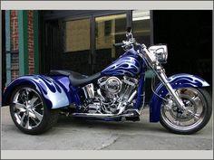 Blue Trike I love it!!