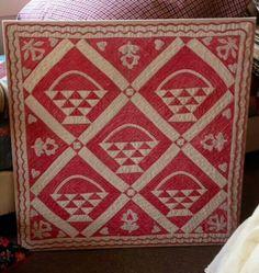 Late 19th century crib quilt....~♥~