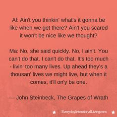 Thought for the Day: Steinbeck