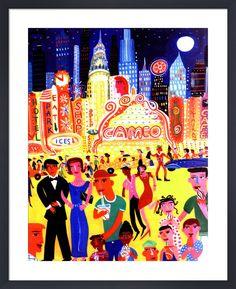 Manhattan 2 Art Print by Christopher Corr | King & McGaw