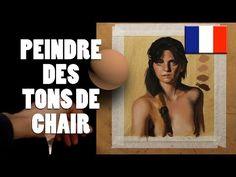 FRENCH - Tutoriel peinture : Peindre des tons de chair - YouTube                                                                                                                                                     Plus