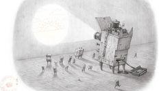 Shaun Tan, Disney Concept Art, Illustration, Cartoon, Rivers, Drawings, Artwork, Artists, Amazing