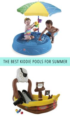 The Best Kiddie Pools For Summer
