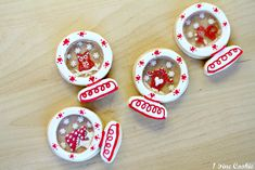 Snow Globe Cookies by 1 Fine Cookie