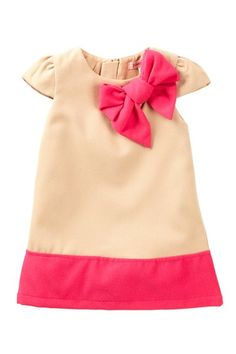 Cap Sleeve Two-Tone Dress