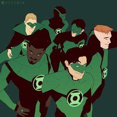 Green Lantern squad