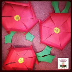 Poinsettia read-aloud & craft