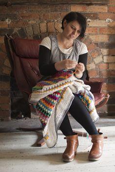 :: The Pippy Stripe Blanket! | meetmeatmikes