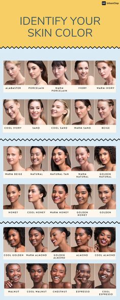 Go-to guide on how to choose a foundation shade. Find answers to - How to find your skin tone How to identify your skin undertone How to choose foundation shade from swatches Which foundation shade am I? Cool Skin Tone, Colors For Skin Tone, Hair Color For Tan Skin Tone, How To Choose Foundation, Foundation Shade, Foundation Tips, Foundation Colors, Foundation For Cool Undertones, How To Choose Concealer