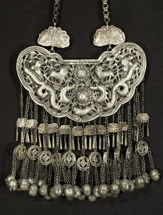 Miao minority culture necklace, Guizhou, China