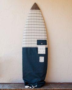 Black Surfboard Bag Surf Board Cover Black by theAtlanticOcean