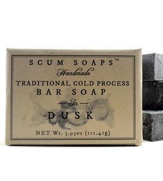 Dusk Patchouli Bar Soap | Women's Beauty | Scum Soaps | Scoutmob Shoppe | Product Detail