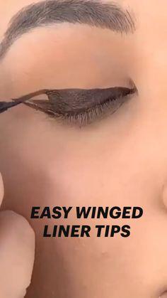 Eyebrow Makeup Tips, Edgy Makeup, Makeup Eye Looks, Eye Makeup Steps, Eye Makeup Art, Beauty Makeup Tips, Skin Makeup, Eyeshadow Makeup, Creative Eye Makeup