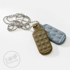 Dog Tag Chew Necklaces | Autism Chew Toys