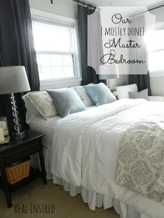 I never thought about putting the bed under the window, but I am loving this look! Might have to give it a try....BB