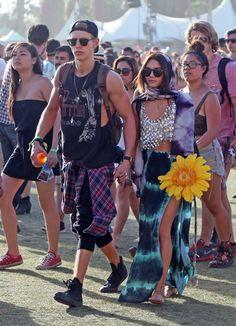 Vanessa Hudgens - Coachella Music Festival Day 3. I freakin love her.