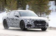 Fastest Sedan Lineup to be, 2019 Audi Spy Photos Performance Engines, Audi A6, Lineup, Spy, Photos, Design, Design Comics