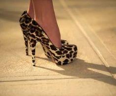 Leopard Pumps have to have leopard shoes! Cheetah Shoes, Leopard Pumps, Cheetah Print, Stilettos, Stiletto Heels, High Heels, Crazy Shoes, Me Too Shoes, Dream Shoes