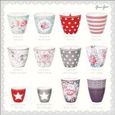 New GreenGate Autumn/Winter 2013 latte cups