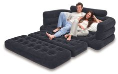 Inflatable Sofa This Intex Lounge Blow Up Pull Out Queen Size Air Mattress Couch Best For Indoor Or Outdoor Use This Airbed With Comfortable Armrests Backrest Is Great As Camping Or Guest Bed >>> Continue to the product at the image link. Sofa Bed Air Mattress, Loveseat Sleeper Sofa, Chair Sofa Bed, Couch Furniture, Queen Mattress, Camping Furniture, Coaster Furniture, Sectional Sofas, Reclining Sofa