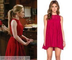 Girl Meets World: Season 2 Episode 12 Maya's Red Lace Dress