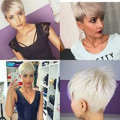 """3,423 Likes, 86 Comments - Short Hair   Pixie Cut Boston (@nothingbutpixies) on Instagram: """"Do you follow @jejojejo87 just rocks this cut """""""