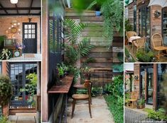 Small Home Remodel Designs Under 50 Square Meters - Di Home Design Lounge Design, Cafe Design, Thai House, Vertical Garden Wall, Outdoor Restaurant, Shabby Chic, Backyard Projects, Little Houses, House In The Woods