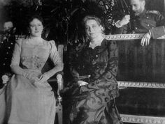 "Ella with her close friend, Princess Zinaida Nikolaievna Yusupova.  ""God bless your dear son for his patriotic act."" ~Ella to Princess Zinaida, referring to Prince Yusupov's involvement in the murder of Rasputin."