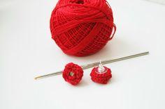 Orecchini facili fatti all'uncinetto: Tutorial Crochet