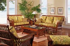 Cocoa Bay Living Room Set and Individual Pieces : by South Sea Rattan