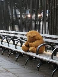 sad teddy bear - i make you feel better!