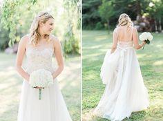 beautiful BHLDN wedding gown