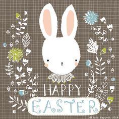 Flora Waycott Design: Happy Easter x