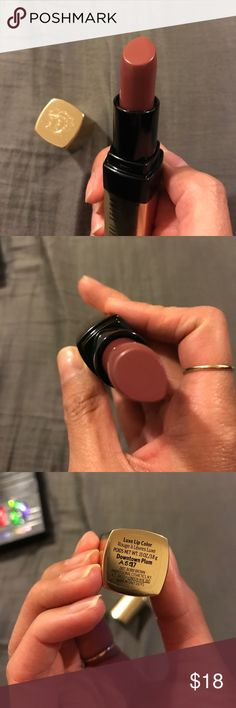 Bobby brown luxe lip color downtown plum Brand new bobby brown luxe lip stick in the color downtown plum bobby brown Makeup Lipstick