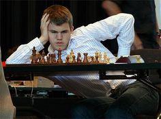 World #Chess Champion @Max London Carlsen